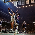 Boston Celtics Vs. Philadelphia 76ers by Dick Raphael