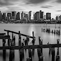 Boston Harbor Waterfront by Juergen Roth
