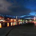 Boston Navy Yard - Constitution Marina by Joann Vitali