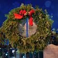 Boston Public Garden Christmas by Joann Vitali