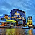 Boston Seaport - Institute Of Contemporary Art by Joann Vitali