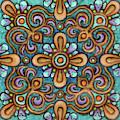 Botanical Mandala 7 by Amy E Fraser
