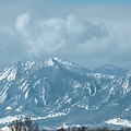 Boulder Colorado Front Range Foothills Dusting by James BO Insogna