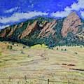 Flatirons Boulder Colorado by Tom Roderick