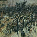 Boulevard Des Italiens - Afternoon, 1987 by Camille Pissarro