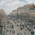 Boulevard Montmartre - Afternoon, Sunlight, 1897 by Camille Pissarro