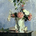 Bouquet Of Flowers by Camille Pissarro