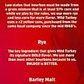 Bourbon Basics by Mel Steinhauer