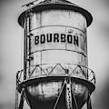 Bourbon Tower - Monochrmoe by Gregory Ballos