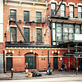 Bowery Mission In New York City by John Rizzuto