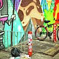 Bowery Street Art In New York City by John Rizzuto