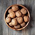 Bowl Of Walnuts by Barcin