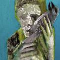 Boy Holding A Bird by Edgeworth DotBlog