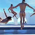 Boys Of Summer Pool by Ray John