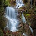 Brace Mountain Falls Ny by Bill Wakeley