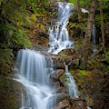 Brace Mountain Falls Ny Square by Bill Wakeley