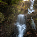 Brace Mountain Falls Square 2 by Bill Wakeley