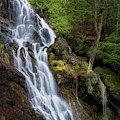 Brace Mountain Falls Square 3 by Bill Wakeley