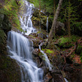 Brace Mountain Falls Square by Bill Wakeley