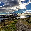 Brakarey Island, Borgarnes, Iceland by Lyl Dil Creations