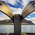 Brakin Monument, Borgarnes, Iceland by Lyl Dil Creations