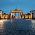 Brandenburg Gate At Dusk by Richard I'anson
