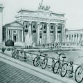 Brandenburg Gate - Berlin by Mohammad Hayssam Kattaa