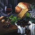 Bread And Wine by Clint Hansen