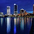 Brew City Blue Hour by Randy Scherkenbach