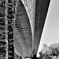 Bridge Vermont B W by Rob Hans