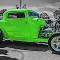 Bright Green Ford by Tony Baca