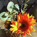 Bright Sunflower Autumn Gift by Irina Sztukowski