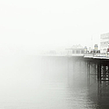 Brighton Pier In The Fog by Jesper Mattias