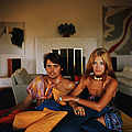 Britt And Her Brother by Slim Aarons