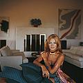 Britt Ekland by Slim Aarons