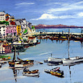 Brixham Harbour by Anthony Palmer