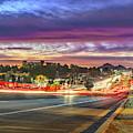 Broadway Sunset, Tucson, Az by Chance Kafka