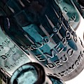 Bromo Seltzer Vintage Glass Bottles Collection - Rare Green And Blue #6 by Marianna Mills