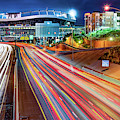 Broncos Stadium At Mile High - Colorful Downtown Denver by Gregory Ballos