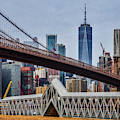 Brooklyn Bridge Dumbo Nyc by Susan Candelario