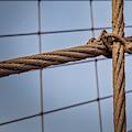 Brooklyn Bridge Cables by Susan Candelario