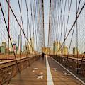 Brooklyn Bridge Nyc Skyline by Susan Candelario