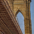 Brooklyn Bridge Over And Under by Susan Candelario