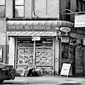 Brooklyn Deli Black White  by Chuck Kuhn