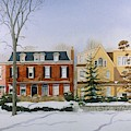 Broom Street Snow by William Renzulli