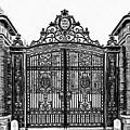 Brown University Gate Graphic Novel Version by Edward Fielding