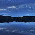 Buck Lake Evening Panoramic by Dale Kauzlaric