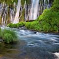 Burney Falls by Leland D Howard