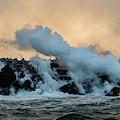Burning Coastline by William Dickman