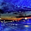 Bus Stop Sunrise by Cindy Boyd